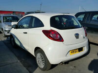 Ford KA MK 2 Passengers Door in White 2009+ N/S Ring for more info