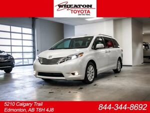 2017 Toyota Sienna LIMITED PACKAGE 7P