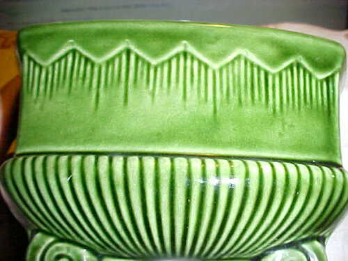 EARLY MID CENTURY VINTAGE McCOY UNSIGNED, PLANTER