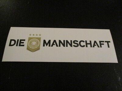 09022018  Aufkleber DFB Deutschland Fußball Nationalmannschaft Weltmeister 2014