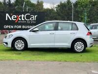 Volkswagen Golf 1.0 TSI BlueMotion Tech S Gorgeous Example in the Best Colour!