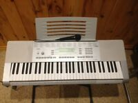 Casio LK280 61-Lighted Key Touch Sensitive Personal Keyboard