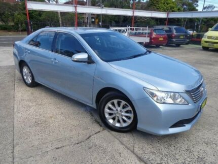 2013 Toyota Aurion GSV50R AT-X Sky Blue 6 Speed Automatic Sedan Sylvania Sutherland Area Preview