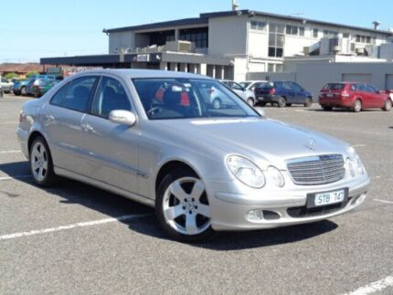 2004 Mercedes-Benz E240 211 Classic Silver 5 Speed Auto Touchshift Sedan Maidstone Maribyrnong Area Preview