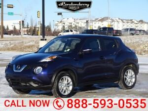2016 Nissan Juke SV Accident Free,  Heated Seats,  Back-up Cam,