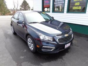 2015 Chevrolet Cruze 1LT 6SPD only $125 bi-weekly all in!