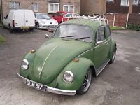 CLASSIC VW BEETLE 1600 RAT LOOK . TAX EXEMPT WITH 12 MONTHS MOT