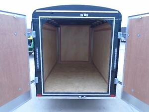 SMALL ENCLOSED CARGO TRAILER - 2016 ATLAS 5X8 - BUILT STRONG London Ontario image 4