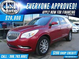 2014 Buick Enclave LEATHER-AWD-LOW KM-APPLY NOW!