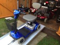Easily Portable Days Strider Mobility Scooter Very Lightweight Lovely Condition 13 Stone Capacity