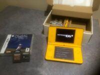 Nintendo DSi XL console and 3No Games