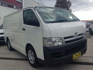 2006 Toyota Hiace TRH201R LWB White 5 Speed Manual Van St Marys Penrith Area Preview