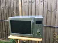 Stainless Steel Microwave - not used, in box