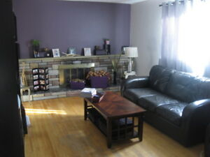 unfurnished Room for rent in 3 bdrm house 3km from Main St.