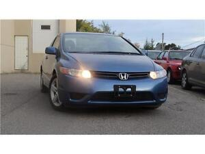 2006 Honda Civic Cpe LX,  Accident free with alloy