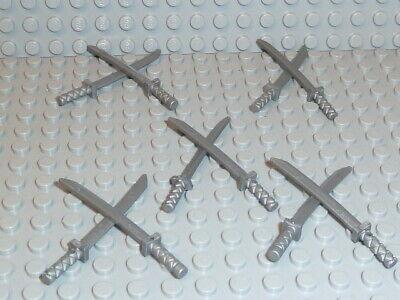 LEGO® 10x Ninja Schwert silber 21459 Waffen sword - Drachen Ninja Schwert