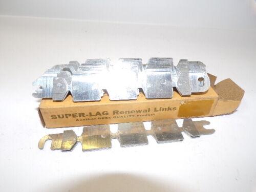 BUSSMAN, SUPER-LAG RENEWAL LINKS, LKS100, 10 COUNT, 600 VAC, 100 A
