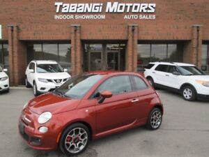 2015 Fiat 500 SPORT | ONE OWNER | LEATHER | ALLOYS | BLUETOOTH