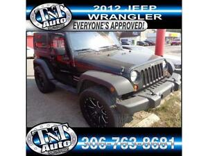 12 Jeep Wrangler LIFTED!- NEED FINANCING? EZ APPROVAL! APPLYNOW!