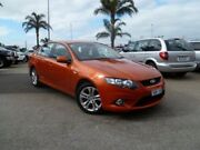 2011 Ford Falcon FG XR6 Orange 6 Speed Sports Automatic Sedan Heatherton Kingston Area Preview