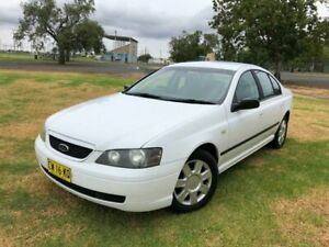 2004 Ford Falcon White Coonamble Coonamble Area Preview
