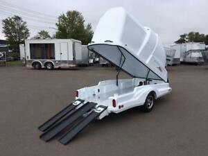 NEW 2018 TOY CARRIER 4' x 9' MOTORCYCLE TRAILER