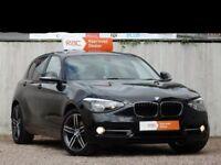 BMW 1 Series 1.6 118I SPORT 5door, Black, Petrol, 1 previous Owner, LOW MILEAGE, FSH, MOT Dec 2018