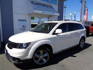 2016 Dodge Journey Crossroad AWD, Nav, Leather, Sunroof, Rev Cam