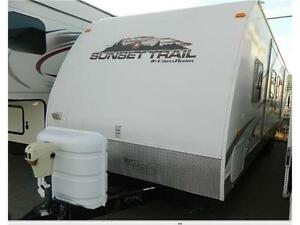 LARGEST USED selection IN ALBERTA ! 2010 SUNSET TRAIL IS PREMIUM