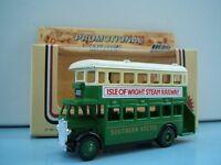 Lledo Promo LP15 D/D AEC Regent Bus Southern Vectis Isle of Wight Steam Railway