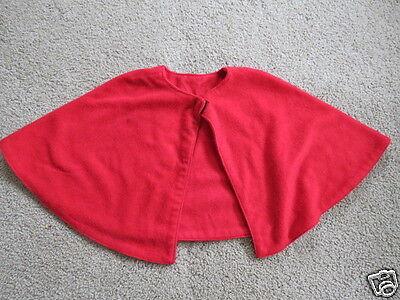 VGC Homemade Handmade red cape - costume, dress-up, outerwear