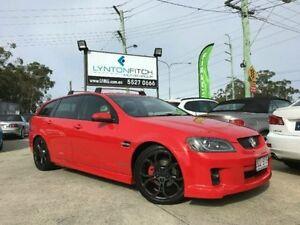 2010 Holden Commodore VE MY10 SV6 Sportwagon Red Semi Auto Wagon Southport Gold Coast City Preview