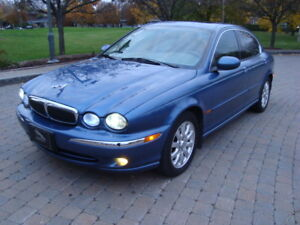 2002 JAGUAR X-TYPE AWD TRADE WELCOME'' PRIVATE SALE'TAX IN'