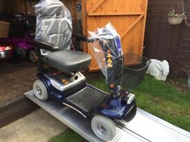 Heavy Duty Sterling Pro Rider Deluxe Mobility Scooter 18 St Capacity Reliable Comfortable Only £350