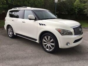 2011 Infiniti QX56 NAVIGATION - DVD - 360 CAMERA