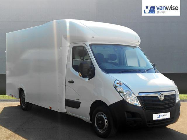 2015 Vauxhall Movano F3500 L3H1 P/C CDTI Diesel white Manual