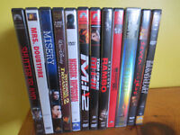 DVD Movies 2$ each (or 3 for 5$)