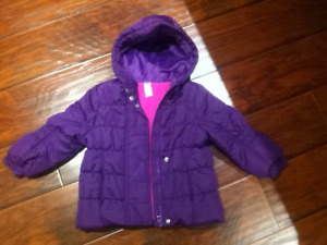 girls winter jacket 3T