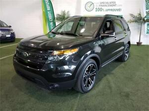 FORD EXPLORER 2014 4WD SPORT*7 PASSAGERS**GPS,TOITS OUVRANTS++