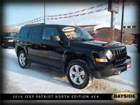 2014 Jeep Patriot North 4X4 LOW KMS! NEW REDUCED PRICE!