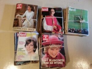 LOT DE MAGAZINES PARIS MATCH ET DE JOUR DE FRANCE