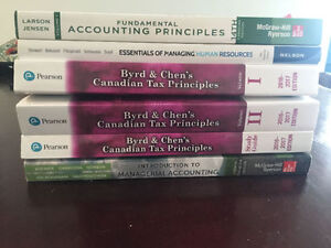 Okanagan College Business Admin Textbooks