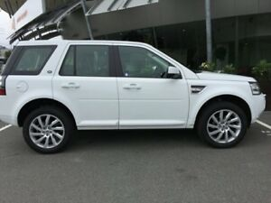 2012 Land Rover Freelander 2 LF SD4 SE Wagon 5dr Spts Auto 6sp 4x4 2.2DT [MY13] White