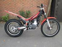 BETA EVO 250 ROAD REGISTERED 2012 TRIALS BIKE @ RPM OFFROAD LTD