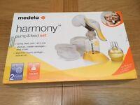 Madela Harmony (Manual) Pump & Feed Set - NEW