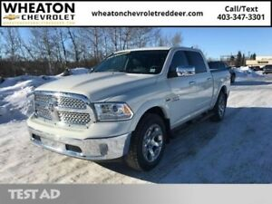 2018 Ram 1500 Laramie  | Low KM | Navigation | Sunroof | Heated