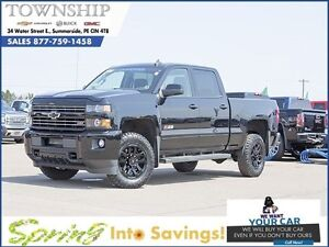2016 Chevrolet Silverado 2500HD LT- Midnight Edition - Crew Cab