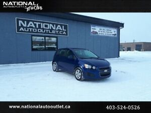 2013 Chevrolet Sonic LS - LOW KLM,S- CLEAN CARFAX