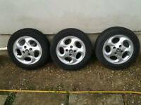 Citroen C3 alloys and tyres