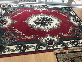 Rug in fair condition not used much
